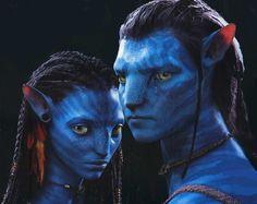 Neytiri and Jake - Avatar