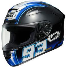 Sale on Shoei Montmelo Marquez X-Twelve Street Racing Motorcycle Helmet 2014 - Motorhelmets