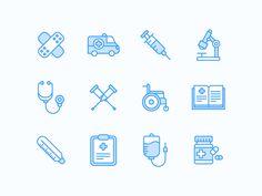 Medical Icons by Simonas Mačiulis