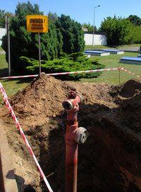 wymiana hydrantów zewrnętrznych modernizacja sieci hydrantowej