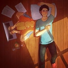 Percabeth ❤ liked on Polyvore featuring percy jackson and art