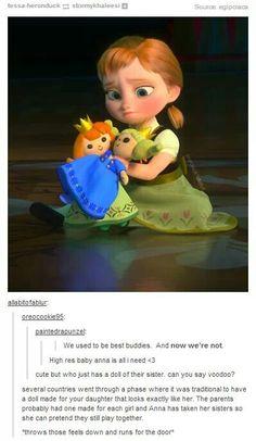The Elsa and Anna Dolls in Disney's Frozen | Walt Disney Animation Studios