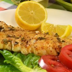 """Grilled Cod I """"A 5 star for our family! My husband said this is a keeper. Easy and delicious. Cod Loin Recipes, Grilled Cod Recipes, Cod Fish Recipes, Grilling Recipes, Seafood Recipes, Cooking Recipes, Healthy Recipes, Yummy Recipes, Seafood Meals"""
