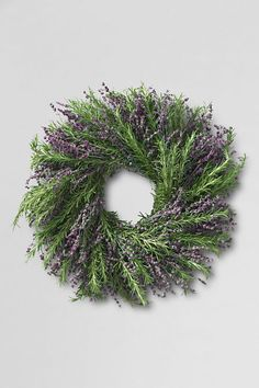 Lavender Rosemary Wreath from Lands' End
