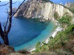 Playa del silencio, Lugo