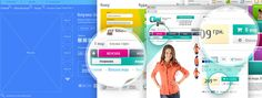 Wireframe and layout zoom   e-commerce   AP_Design