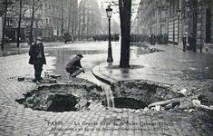 Le boulevard St Germain en 1900