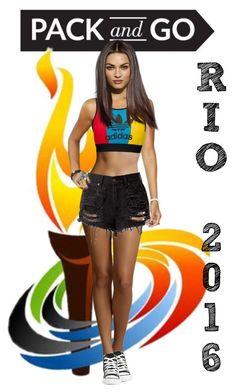 """Rio 2016"" by valegarcia-reader on Polyvore featuring moda, adidas Originals, Converse y StillPlayingWithDolls"