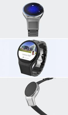 Lenovo's Magic View smartwatch touts two displays.