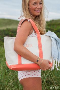 Classic Canvas- L.L. Bean Boat and Tote. The iconic bag – which was originally designed to carry ice – has been around since 1944.
