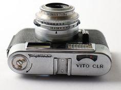 VOIGTLÄNDER VITO CLR mit SKOPAR 2.8 / 50 Antik Vintage 6x6 Retro Foto in Foto & Camcorder, Photographica, Alte Kameras | eBay
