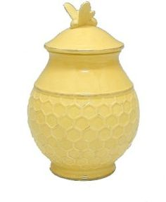 Beehive Designed Kitchen Canister