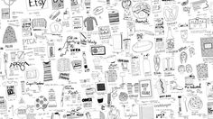 You can make money drawing in several different ways, like selling drawings as vector icons & illustrations or listing them as art prints on Etsy.