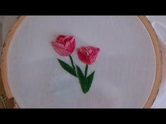 Hand Embroidery: Tulip Stitch - YouTube