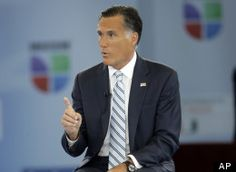 Mitt Romney: 'My Campaign Is About The 100 Percent'| OMG does anyone really believe the Romney BS anymore ~