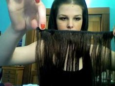 DIY Make Your Own Hair Extensions for less than $60 with 100% human hair from Sally Beauty Supply  & Save $$$!!!!!!