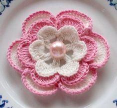Diversas Flores em crochê