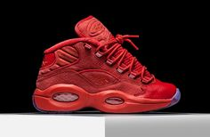 e3615224604 Teyana Taylor Reebok Question Mid Release Date. Teyana Taylor s Reebok  Question Mid drops October built with a luxe croc-embossed in Red with icy  soles.