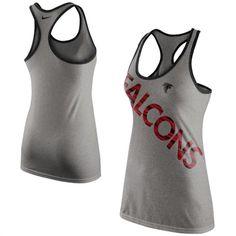 Atlanta Falcons Women's Nike Tri-Blend Performance Tank Top #falcons #nfl #football