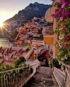 The gorgeous Positano, Italy Photo by @golden_heart