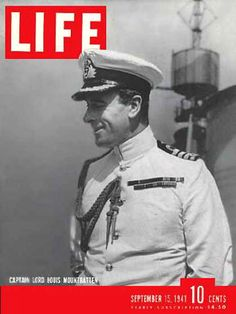 Life Magazine Cover Copyright 1941 Lord Mountbatten