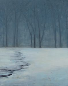 Katherine Bowling(American, b.1955) Fog 2007 Oil and spackle on wood panel