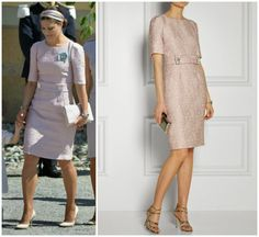 Crown Princess Victoria in Dolce&Gabbana | MYROYALS &HOLLYWOOD FASHİON