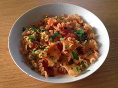 Gunns momsemat: Pasta med tomat, hvitløk, chili og persille