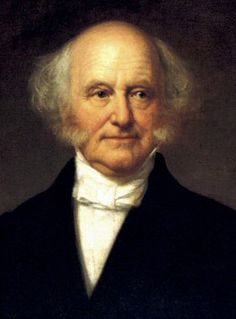 Eighth president - NAME: Martin Van Buren OCCUPATION: U.S. President BIRTH DATE: December 05, 1782 DEATH DATE: July 24, 1862 PLACE OF BIRTH: Kinderhook, New York more about Martin BEST KNOWN FOR Politician Martin Van Buren was the eighth president of the United States. He also served as Senator, Secretary of State, and Vice President.