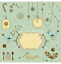 Christmas ornaments vector - by alevtina on VectorStock®