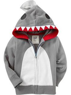 Embellished Hoodies for Baby | Old Navy - to go with Thomas's shark Converse :)