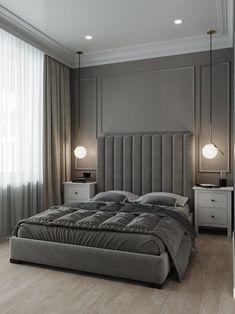 Modern Luxury Bedroom, Luxury Bedroom Design, Master Bedroom Design, Luxury Interior Design, Contemporary Bedroom, Luxurious Bedrooms, Home Decor Bedroom, Bedroom Ideas, Trendy Bedroom