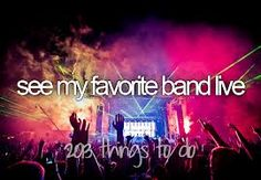 this will always be on my list...because every concert I go to should have a place on this list!!