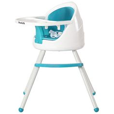 This modern chic High Chair is an adaptable Chair that grows with your baby. Its fresh, colorful and stylish design allows multi-functional usage and is sure to compliment any lifestyle. The Dream On Me Pod High Chair offers a 2-position easy up and down height adjustment with a 360 degrees swivel which allows the baby to join the family at the dining table or a modern breakfast bar; starting from 6 months, all the way to school age. This High Chair is engineered with a 5 point safety…