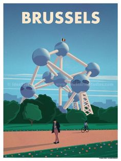 Image of Brussels Poster