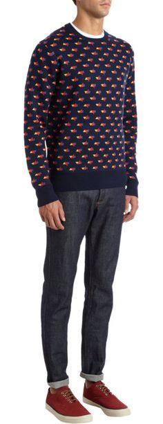 Jack Spade Tangram Sweater at Barneys.com