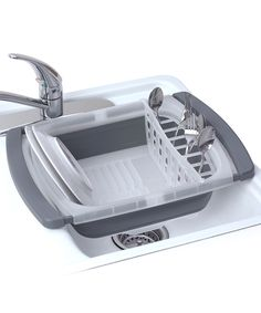 Another great find on #zulily! Collapsible Over-the-Sink Dish Drainer by Progressive #zulilyfinds