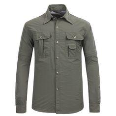 Man Anti UV Sun Protection Quick Dry Camisetas Hiking Camping Fishing Shirt Men Sport Trekking Lightweight Outdoor Shirts.
