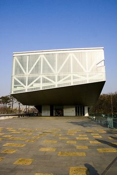 Seoul National University Museum #RemKoolhaas#Architecture Rem Koolhaas, Seoul, Remodeling, Louvre, University, Museum, Traditional, Space, Building