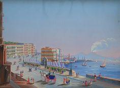 Veduta di Napoli da Posillipo