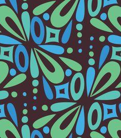 original floral tile design
