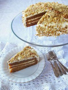 Posadzone i zjedzone: Tort marchewkowy