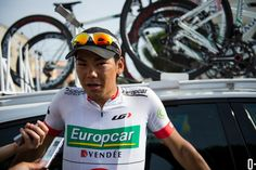 CHASING LE TOUR: CAVENDISH OPENS HIS ACCOUNT - Stage 5 - Yukiya Arashiro (Europcar) was the virtual race leader for much of the stage.