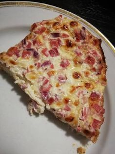 Hawaiian Pizza, Meat Recipes, Bacon, Sandwiches, Cheese, Food, Essen, Meals, Paninis