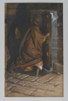 Judas Leaves the Cenacle (Judas quitte le Cénacle) - James Tissot