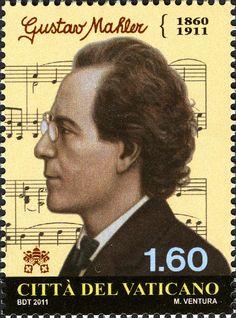 Timbres VA033-11 Vatican 18 Novembre 2011 Musique et danse Musiciens et Hommes d Orchestre Centenaire de la mort de Gustav Mahler.jpg