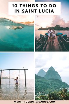 10 Things To Do In Saint Lucia - Planning a trip to Saint Lucia? I'm sharing my top things to do during your stay on this magical island! Europe Destinations, Beach Honeymoon Destinations, Caribbean Vacations, Wedding Destinations, Beach Vacations, Ste Lucie, Safari, Hotels, South America Travel