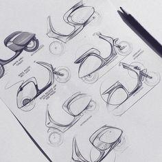 scooter / scooterdesign / transportationdesign / industrialdesign / productdesign / sketch / blue / pencil / behance / idsketching / sketchaday / render / doodle / vespa / unisex