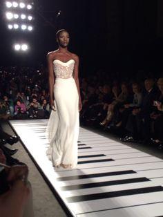 Jamal Taslaq evening dress 2014