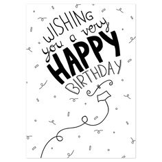 Best Birthday Quotes : Wishing you a ver happy birthday - Quotes Boxes Birthday Celebration Quotes, Best Birthday Quotes, Happy Birthday Messages, Very Happy Birthday, Happy Birthday Images, Happy Birthday Greetings, Birthday Pictures, Happy Birthday Typography, Special Birthday